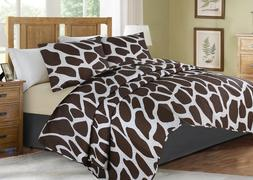 2/3-Piece Bed Cover Animal Print Quilt Bedspread Coverlet Pi