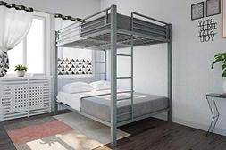 DHP Full Over Full Metal Bunk Bed, Sturdy Frame with Metal S