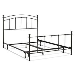 Fashion Bed Group Sanford Complete Metal Bed and Steel Suppo