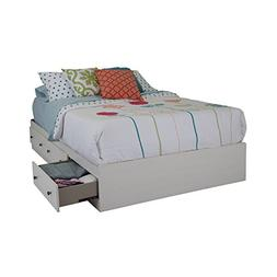 South Shore Country Poetry Mates Bed with 3 Drawers, Full 54