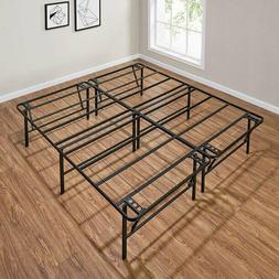 Box Spring Bed Frame Replacement Metal Platform Foundation A