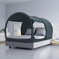 Canopy Bed Tent Pop Up Portable Privacy Bunk Twin size Sleep