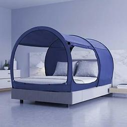Canopy Twin Bed Indoor Play Tent Privacy Warm Breathable Pop