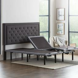 LUCID Comfort Collection Deluxe Adjustable Bed Base