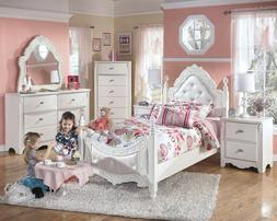 Ashley Furniture Exquisite Twin 6 Piece Bed Set