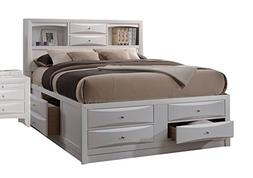 Acme Furniture Ireland 21710F Full Bed with Storage, White