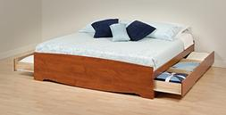 Prepac King Platform Storage Bed - CBK-8400-K