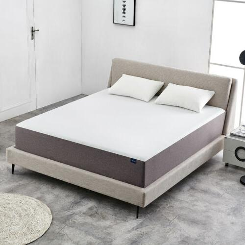 8 Inch Queen Size Memory Foam Mattress More Breathable Bed C