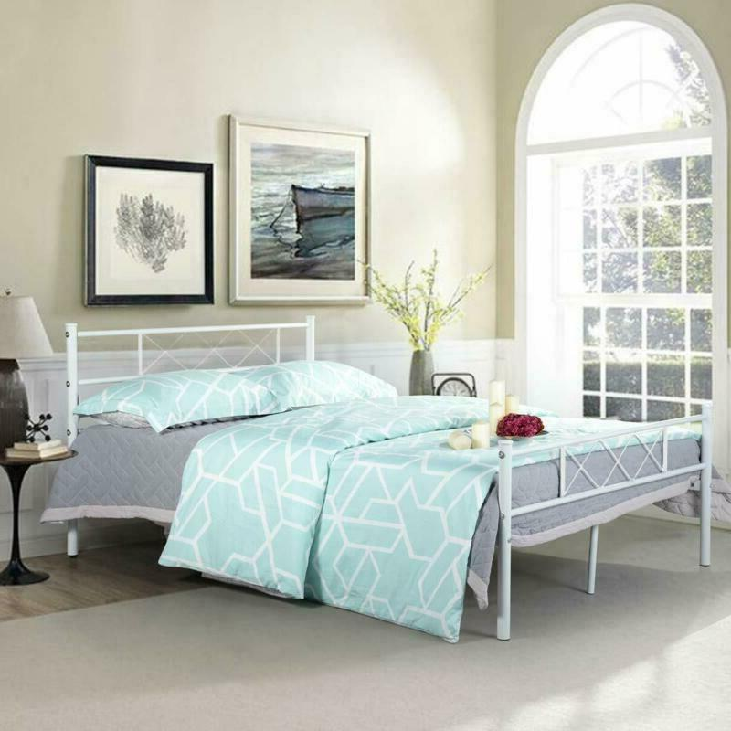 Full Size Frame Bedroom with Headboard