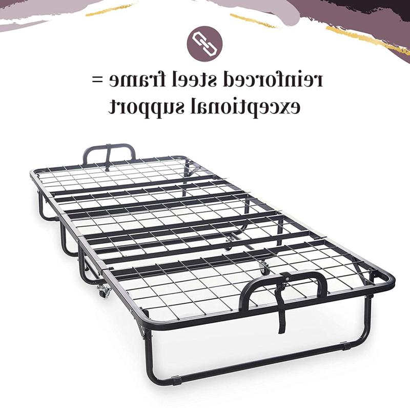 Milliard Diplomat Folding Bed – Twin With Luxurious Mattres