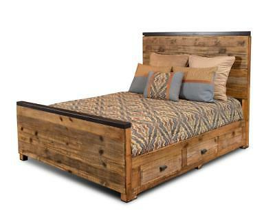 sacramento bed frame with 4 storage drawers