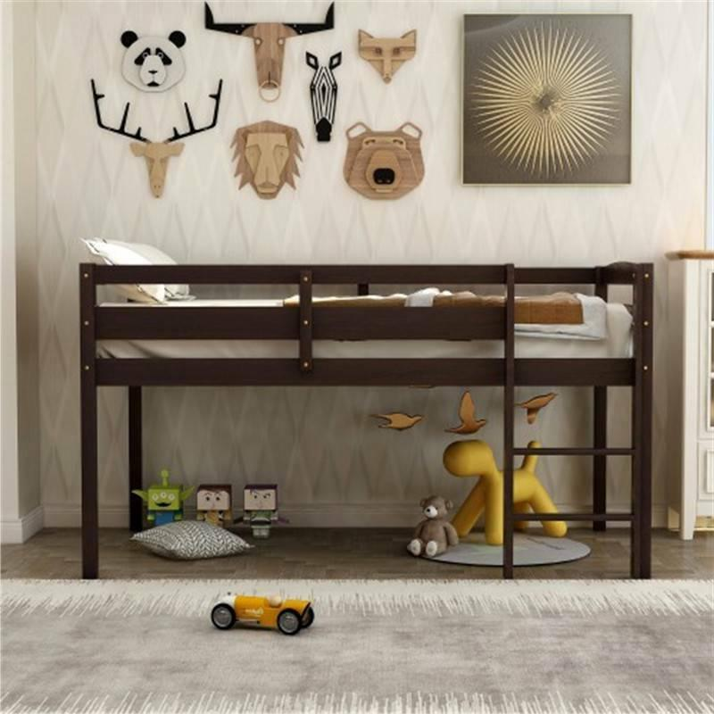 Twin Bed Bed Low Loft Beds for Bedroom