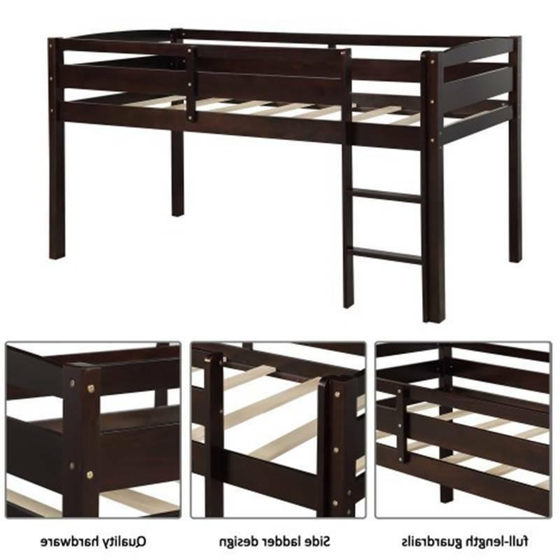 Twin Bed Loft Bed for With Ladder Bedroom Furniture