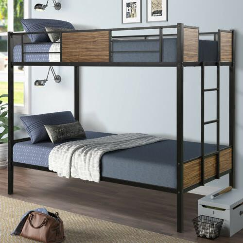 Twin/Full Beds Frame w/Ladder Adult