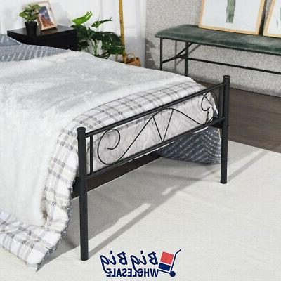 Twin Size Frame with Footboard