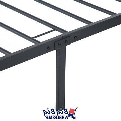 Twin Size Frame Black Foundation with