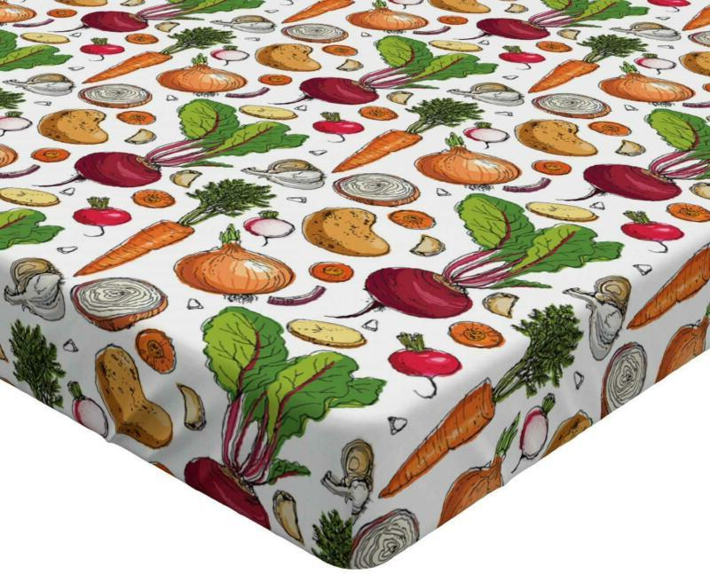 Ambesonne Vegetables Continuous