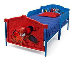 Marvel Spiderman 3-D Twin Bed