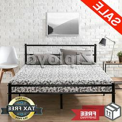 Zinus Metal Platform Bed Frame with Headboard and Footboard