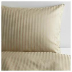IKEA NATTJASMIN FULL/QUEEN DUVET COVER + 2 PILLOWCASES BED S