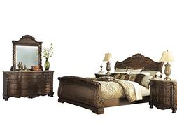 Ashley North Shore 5PC Bedroom Set E King Sleigh Bed Dresser