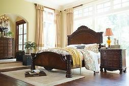 Ashley Furniture North Shore Queen Panel 6 Piece Bed Set B55