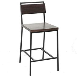 Fashion Bed Group Olympia Counter Stool with Black Matte Fin