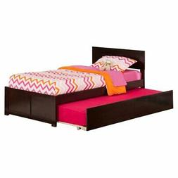 Atlantic Furniture Orlando Twin Platform Bed with Flat Panel