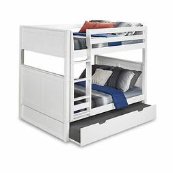Camaflexi Full over Full Bunk Bed with Twin Trundle, Panel H
