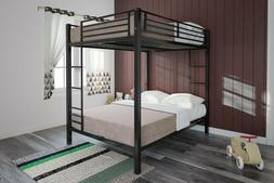 Bunk Beds Full Over Full Size Kids Girls Boys Adults Bedroom