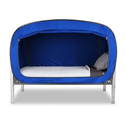 Privacy Pop Bed Tent Blue Twin