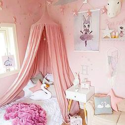 LEDUNUS Princess Bed Canopy Mosquito Net for Kids Baby Bed,