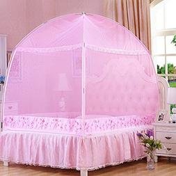 CdyBox Princess Mosquito Net Bed Tent Canopy Curtains Nettin