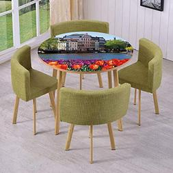 Round Table/Wall/Floor Decal Strikers/Removable/European Cit