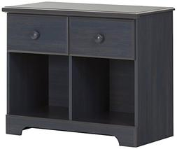 South Shore Summer Breeze 2-Drawer Double Nightstand, Multip