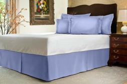Harmony Lane Tailored Bed Skirt with Split Corners 16 Colors