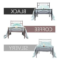 twin full size bedroom metal bed frame