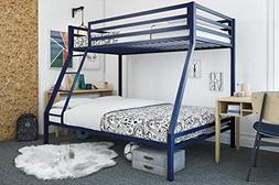 Mainstays Premium Twin Over Full Bunk Bed, Multiple Colors,