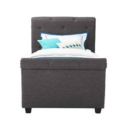 Abbey Avenue U-AUD-090TB Audrey Youth Twin Upholstered Bed,